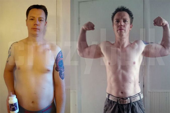 Before and After CrazyBulk Trenorol