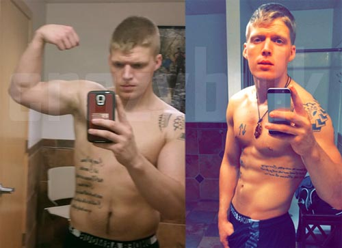 Crazy Bulk HGH X2: Before and After